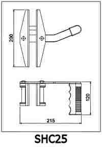 Single Handed Carry Clamp Specifications